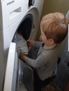 proud parenting laundry