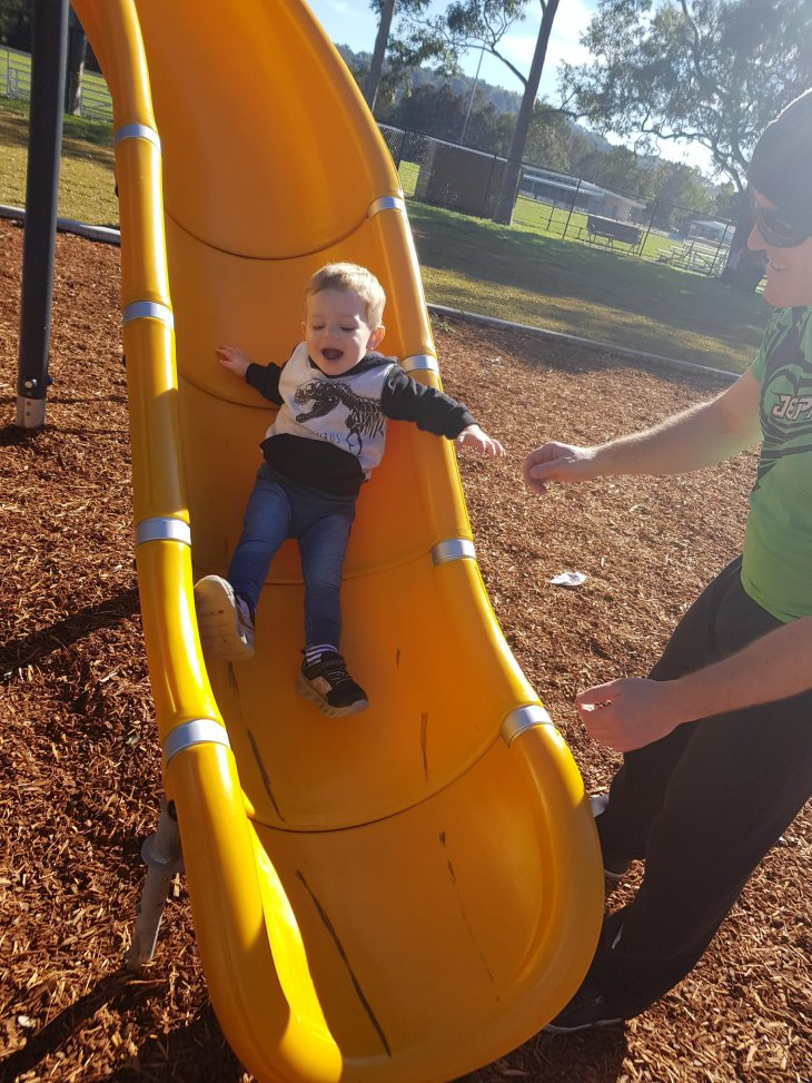 toddler slide park